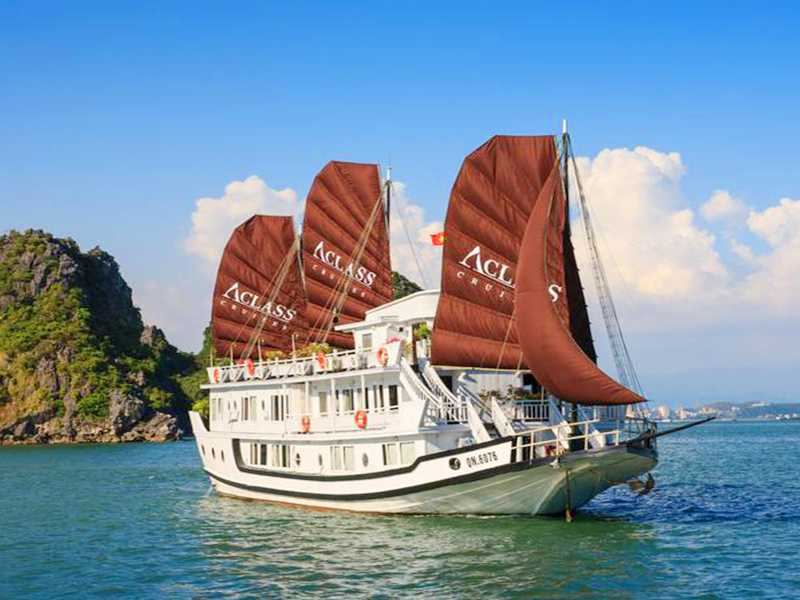 Aclass Legend Cruise - 2 Days 1 Night on boat - Halong Bay Tours