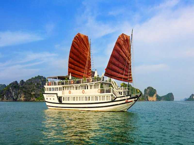 Carina Cruise - 2 Days 1 Night On Boat - Halong Bay Tours